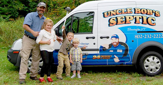 Uncle Bob's Septic Tank Maintenance, septic pumping-Bennington VT